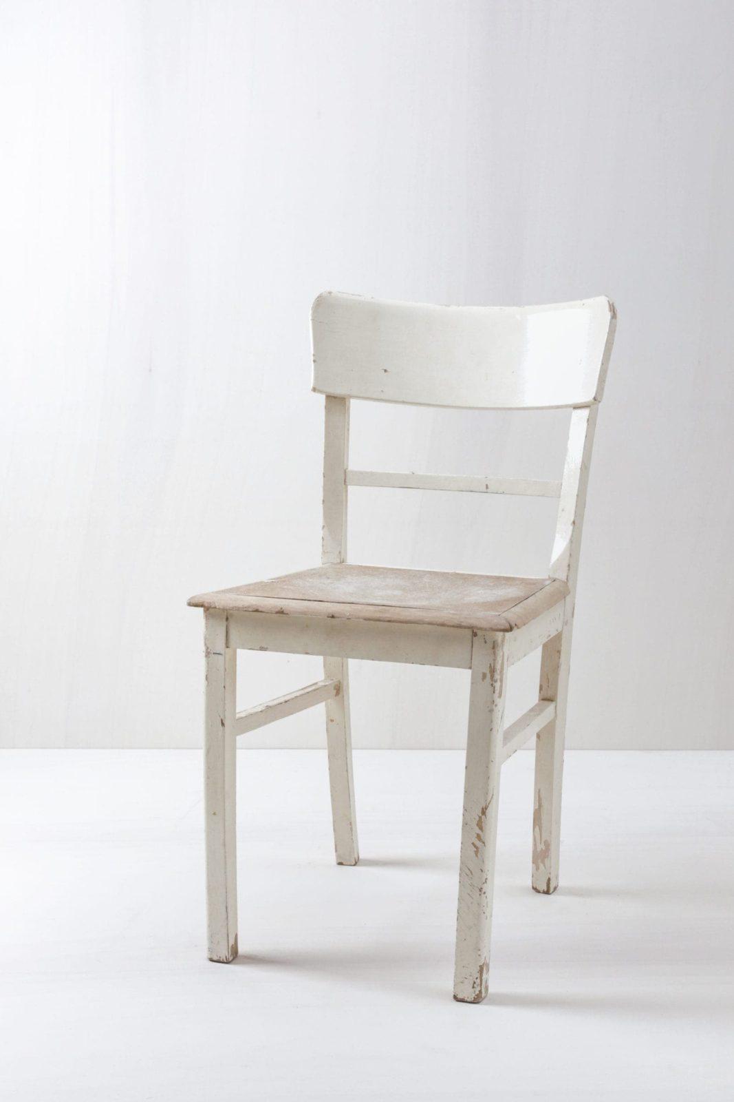 Küchenstuhl Vanesa | Authentischer Küchenstuhl in Shabby Chic. | gotvintage Rental & Event Design