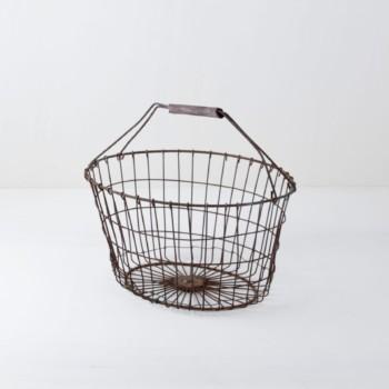 Metal basket, baskets, Boho decoration, rent
