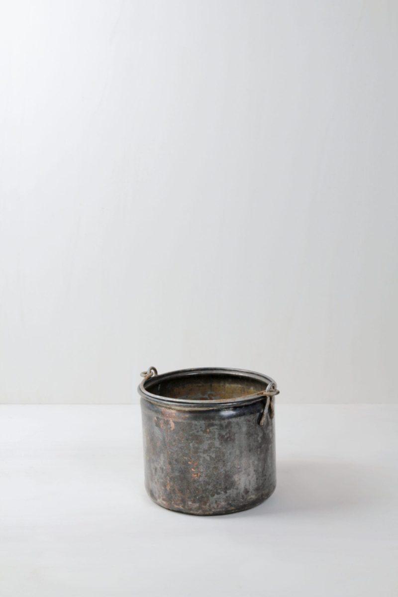 Vintage Vases, buckets, glassware, metalware, wedding decoration, hire