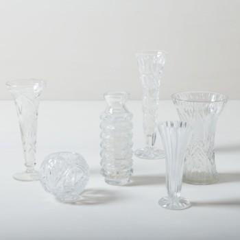 Dekoration und Glasvase mieten
