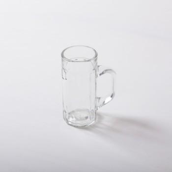 Bierkrug Ambrosio 0.2l | 1950er Jahre Glas-Bierkrüge mit Eichstrich. Robust und in großer Stückzahl vorrätig. Auch als 0,4l Krug zu haben. | gotvintage Rental & Event Design