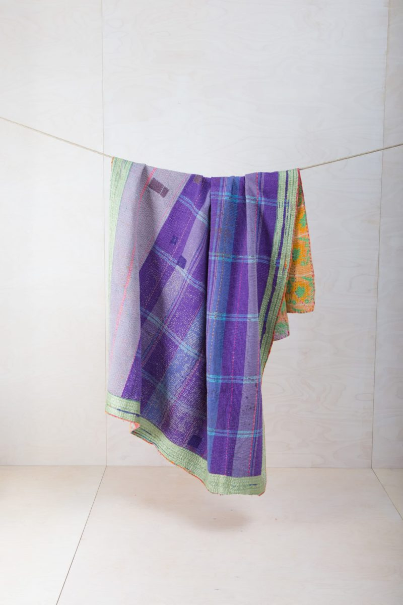 Colourful blankets for rent