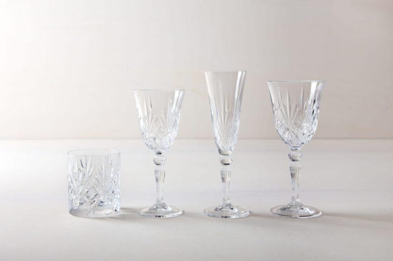 Sektflöte Victoria 16cl | Sektglas im Retrostil, harmoniert sehr gut mit goldenem oder vintage Silberbesteck bei einem elegantem Abendessen. Die Sektgläser im Retrostil machen aber auch bei jeder Champagner Party oder Apfelschorlen Sause etwas her. | gotvintage Rental & Event Design