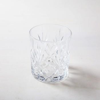 Wasserglas Victoria 31cl | Old Fashioned Glas im Retrostil, harmoniert sehr gut mit goldenem Besteck bei einem Dinner und vintage Bar Atmosphäre. | gotvintage Rental & Event Design