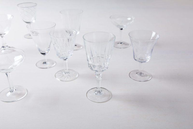 Aperitifglas Patricia Mismatching   Zur perfekten Einstimmung auf ein schönes Essen gehört ein Aperitif im schönen Glas. Bei den Maßangaben handelt es sich um cirka Werte, da jedes Aperitifglas verschieden ist.   gotvintage Rental & Event Design