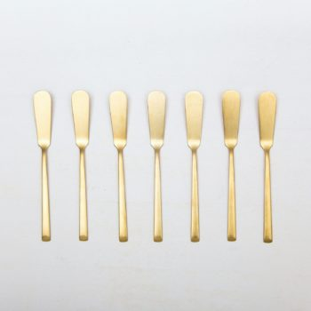 Rent golden cutlery for events