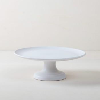 weiße Tortenständer, Geschirr, Gläser und Vintage Besteck zu mieten