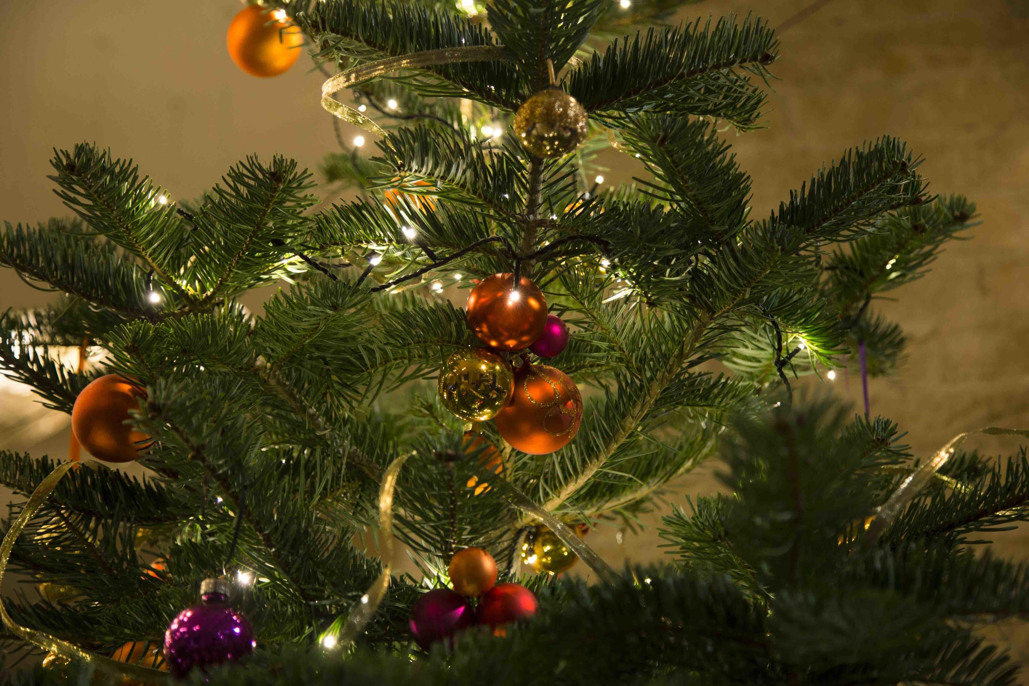 Weihnachtsbaumdekoration, Weihnachtsfest, Weihnachtskugeln mieten, Firmenfeier, Weihnachtsbaumkugel mieten