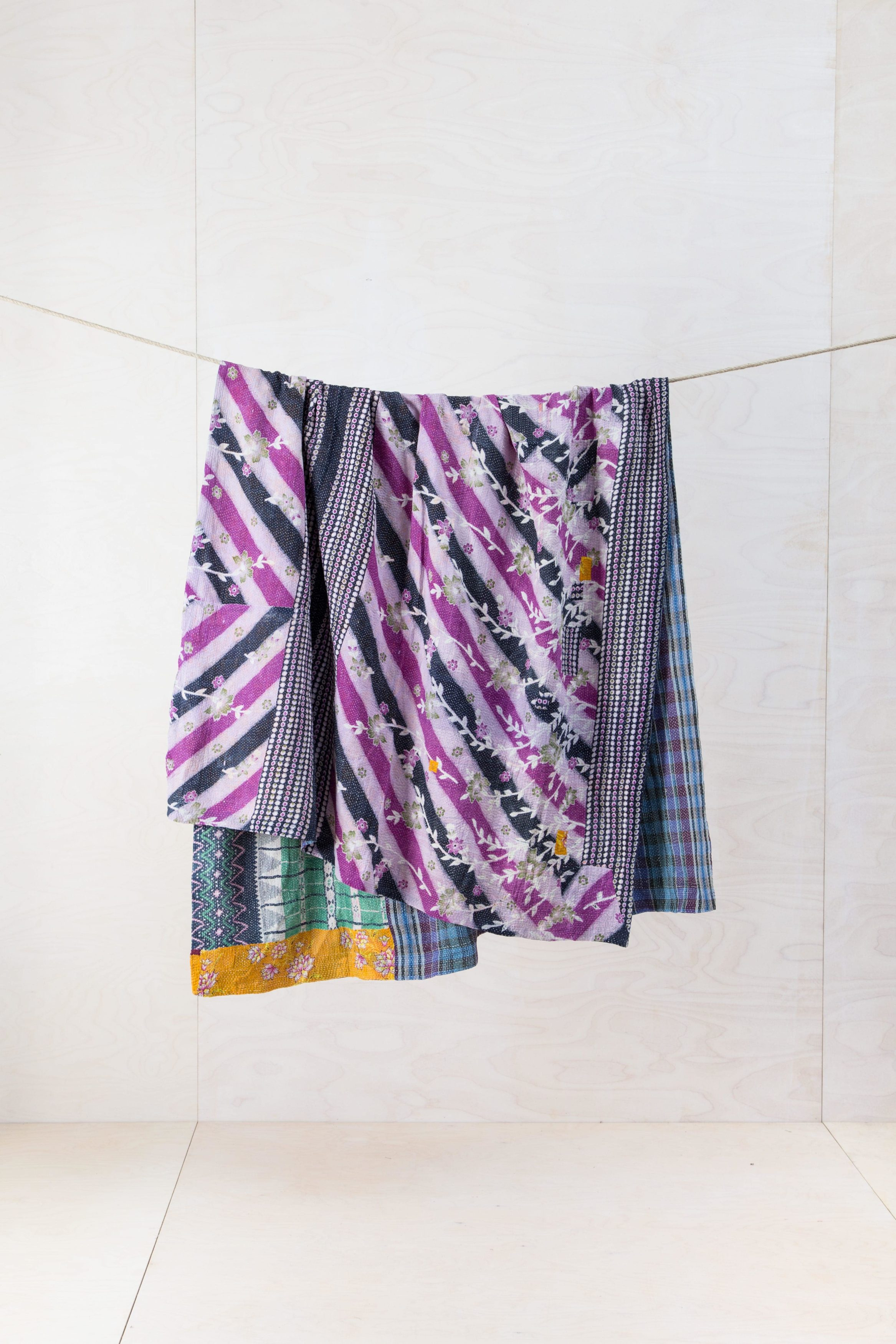 Vintage Stoffe in neue Form, Baumwolldecken zu mieten