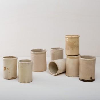 Vasen Keramiktöpfe, Keramikgefäße, Buffettisch