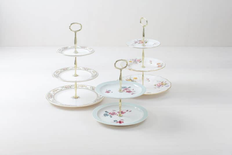 cake stand set for hire
