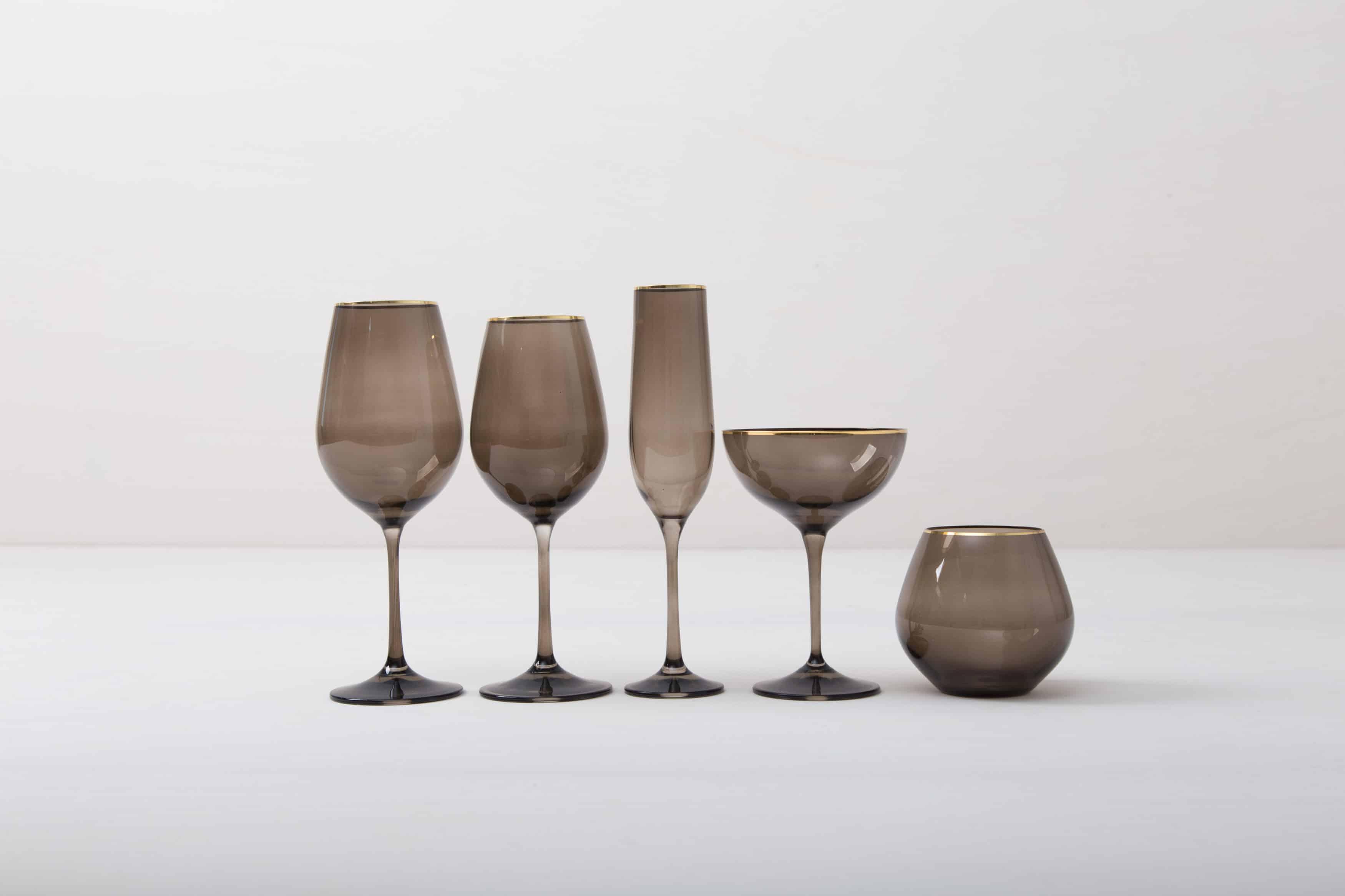 Gläser für Events, Empfänge und Hochzeiten mieten