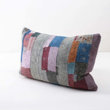Vintage picnic pillow, boho wedding
