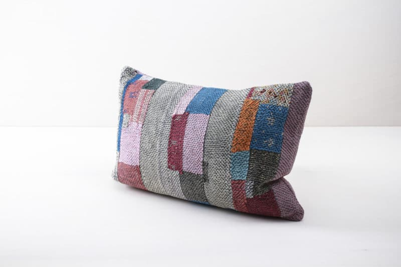 Vintage picnic pillow, boho wedding