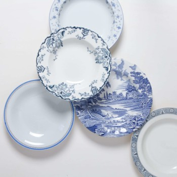 Vintage Tableware for hire