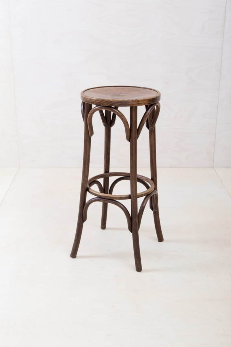 Rent bentwood bar stools in Thonet style from the 20s Berlin, Hamburg