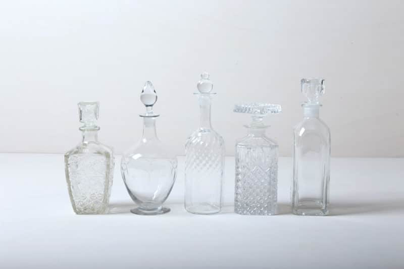 Retro bottles, bar accessories & catering supplies