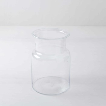 Rent various glass containers, glass bottles, glass plates & glass vases