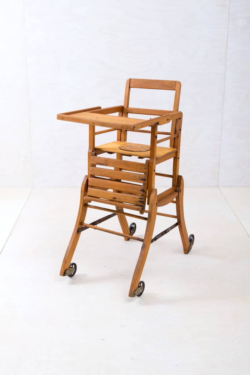 children furniture, vintage high chairs for rent