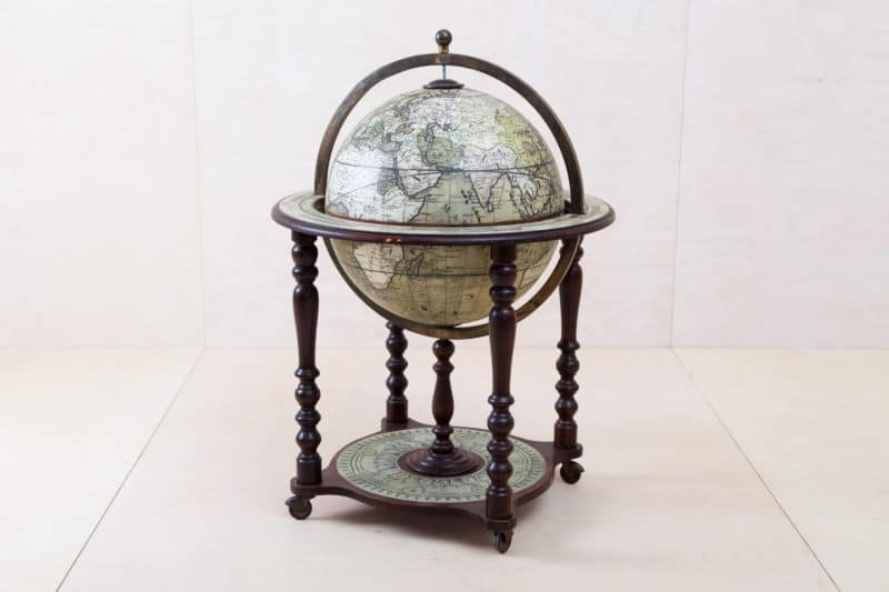 decorative stand globe for hire Berlin