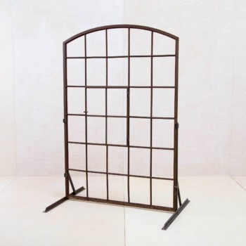 Old window frame steel. Event decoration for hire.