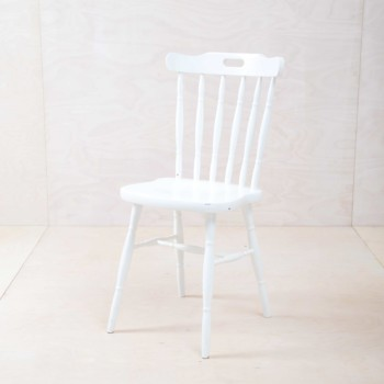 rental furniture white wooden chairs Berlin, Germany