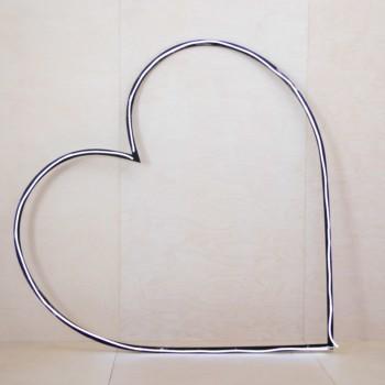 Wedding arch, background wedding ceremony, decoration heart shape