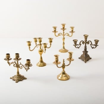 Candlesticks, candleholders, rent, wedding, event