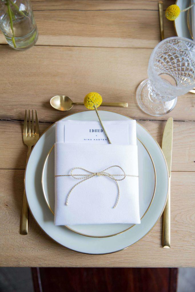 Wedding presentation plate - wedding party decoration